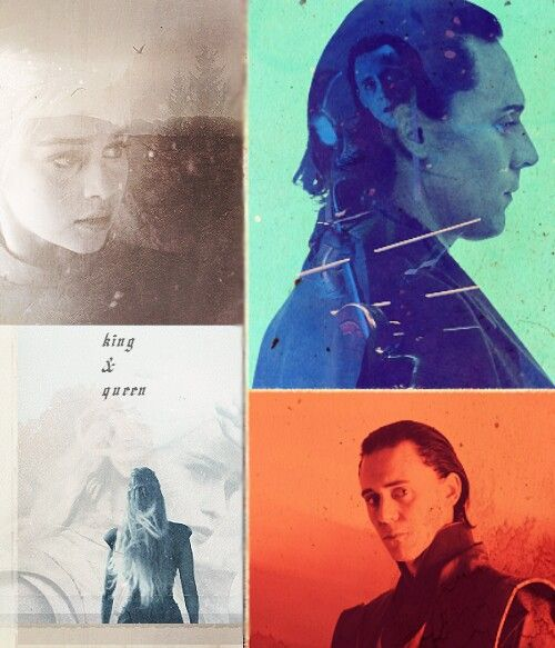 Crossovers King And Queen: King And Queen...of Asgard