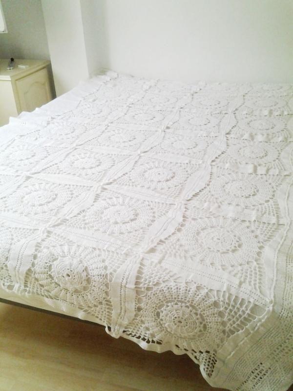 colchas a crochet - Buscar con Google   mantas   Pinterest   Colchas ...