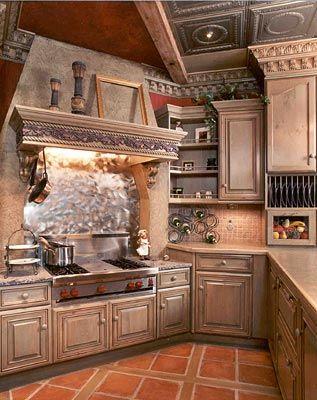 Images Of Old World Kitchens Kitchen Decor