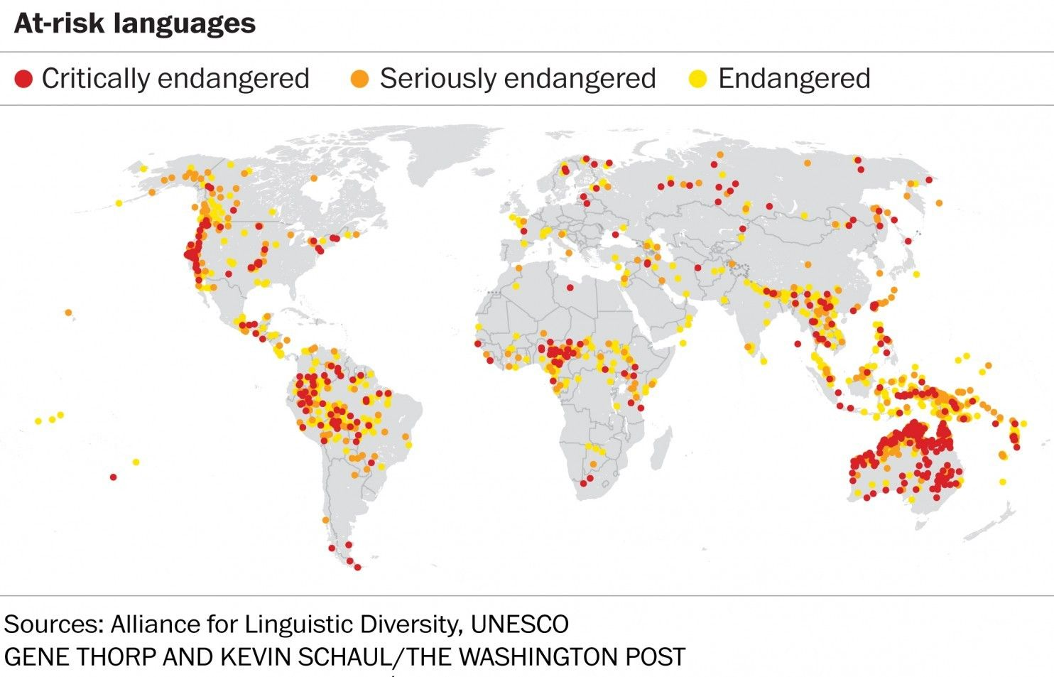 The Worlds Languages In Maps And Charts Language And Social - Language chart of the world