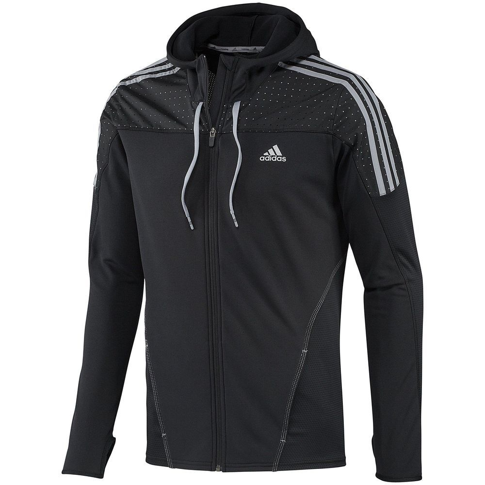 89c00e9d3d8 Adidas RESPONSE ICON HOODY Climalite Running Sweat Track Shirt jacket Top~ Mens M   Clothing, Shoes & Accessories, Men's Clothing, Athletic Apparel    eBay!