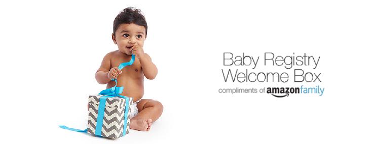 FREE Amazon Baby Registry Welcome Box: Amazon Prime members ca