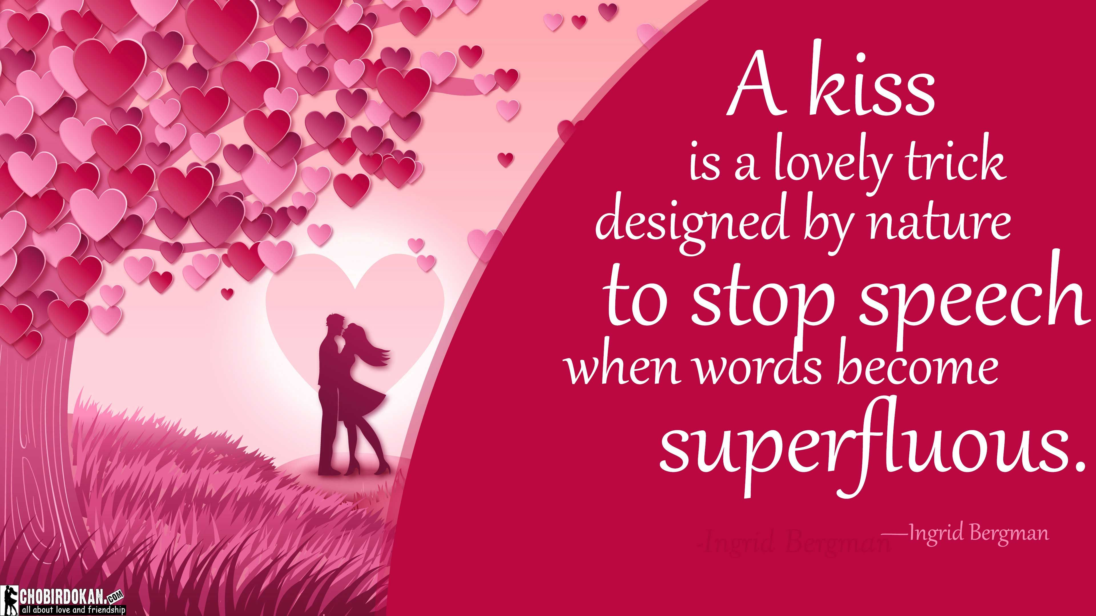 Cute Kissing Quotes Images For Herhim Best Love Kiss Quotes Me