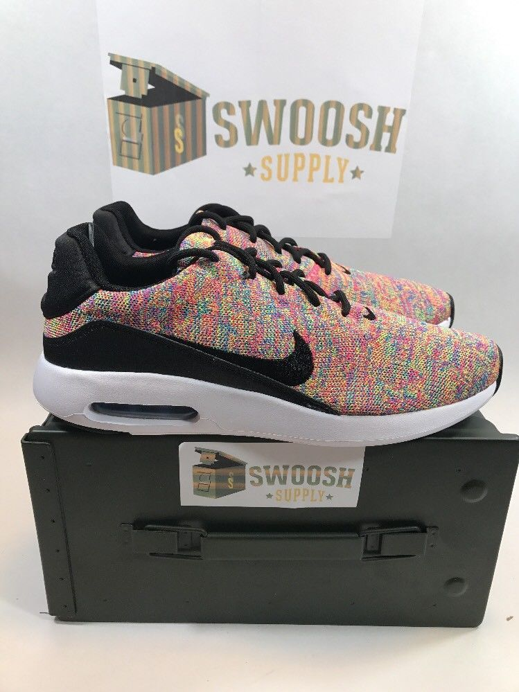 official photos 99ed1 b4ca7 NIKE AIR MAX MODERN FLYKNIT MULTI-COLOR 876066 403 SIZES 8-13 Nike  RunningCrossTraining