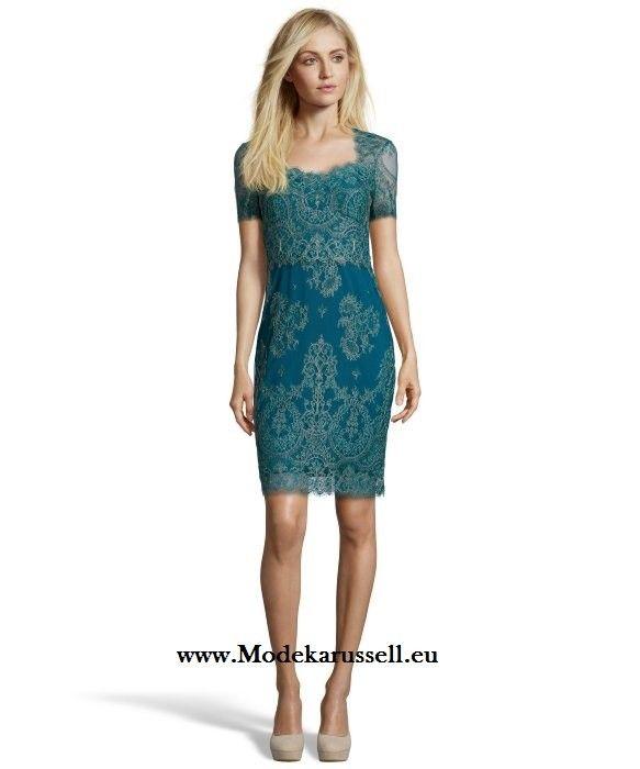 Elegantes Spitzen Cocktailkleid | Blaue Kleider online kaufen ...