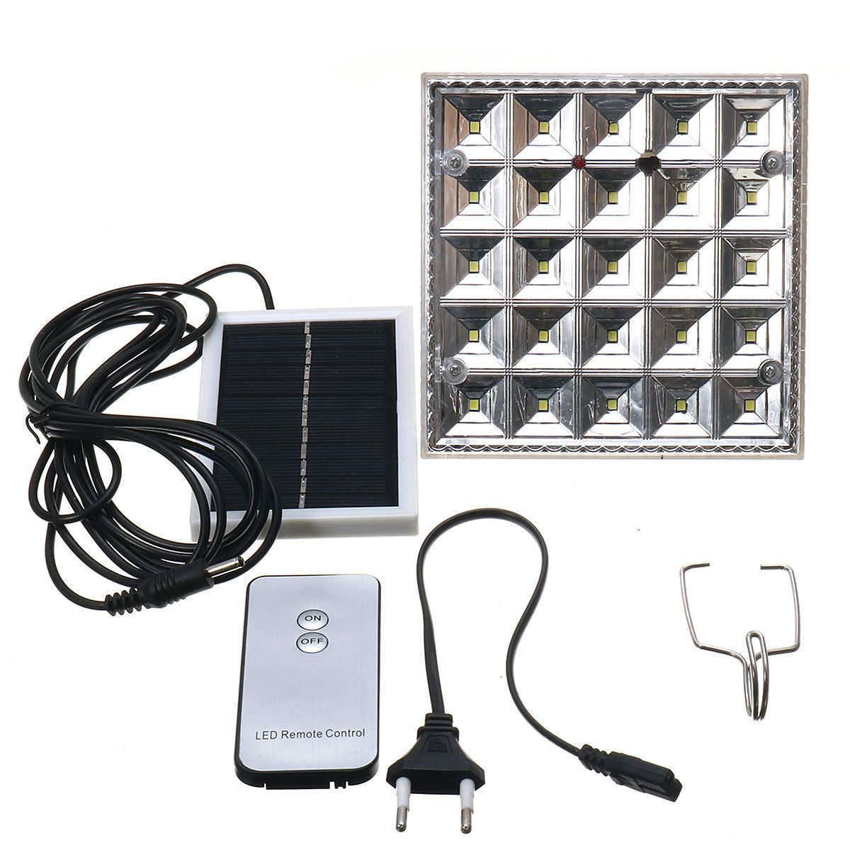 IPRee™ 25 LED Solar Camping Light Hanging Tent Lamp Lantern With Remote Control