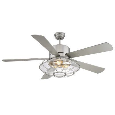 Trent austin design 56 roberts 5 blade ceiling fan with remote control wayfair