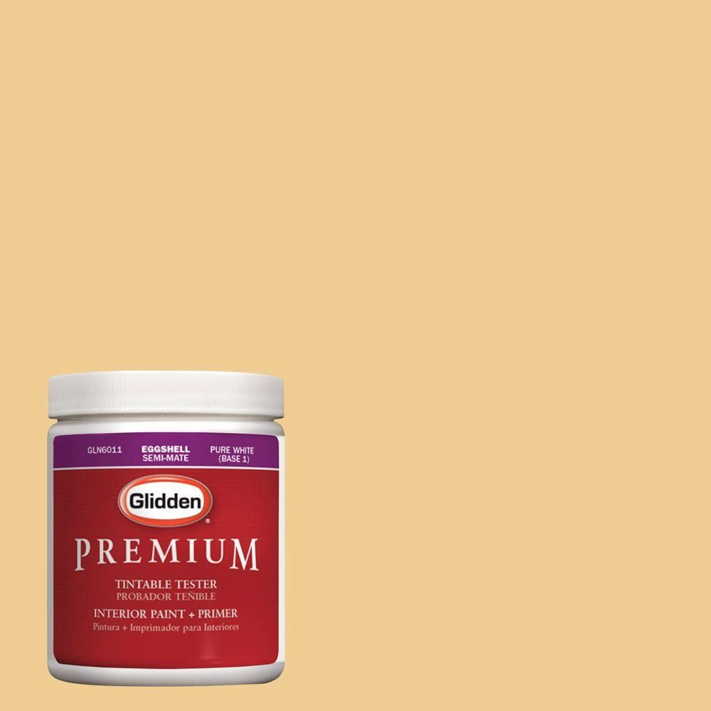 Glidden Premium 8 oz. #HDGY07U Soft Gold Latex Interior Paint Tester, Voc_50.Jpg