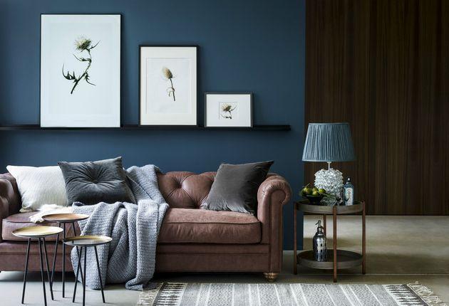 Crochet Throw, grey.  Sofa.com
