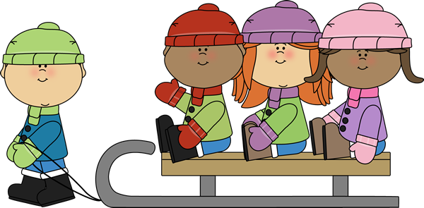 Image result for kids winter clipart