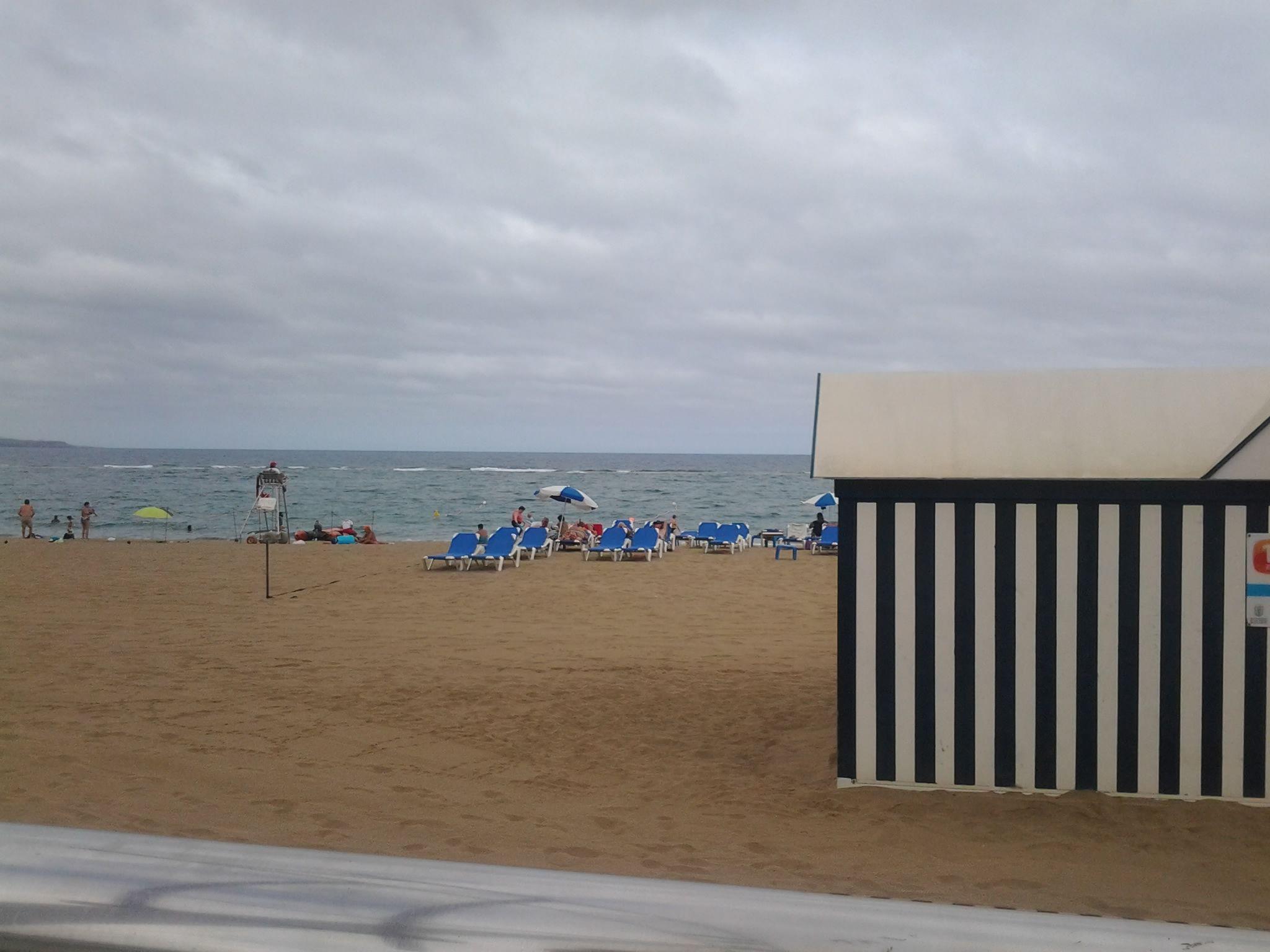 Las Palmas de Gran Canaria in Las Palmas, Canarias. Las Canteras paseo :D