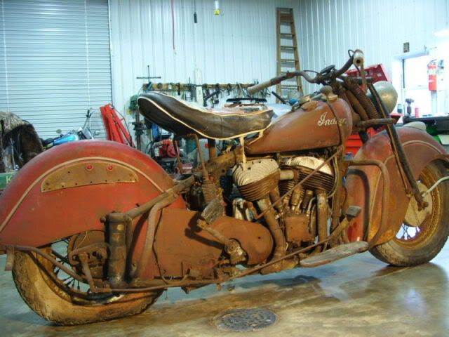 Real Barn Finds Pics Thread Real Barn Find On Ebay Vintage Indian Motorcycles Indian Motorcycle Indian Motorbike