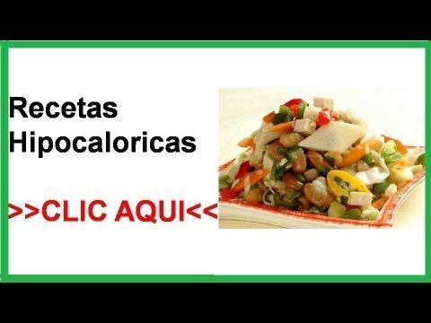 Recetas con verduras dieta hipocalorica