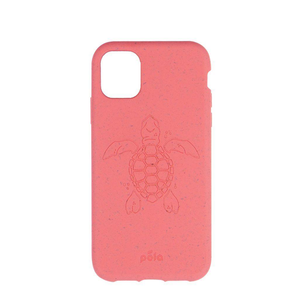 Coral Turtle Edition Eco Friendly Phone Iphone 11 Pro Case Pela