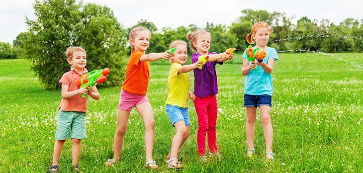 5 juegos al aire libre para niños Juegos imprescindibles en una ...