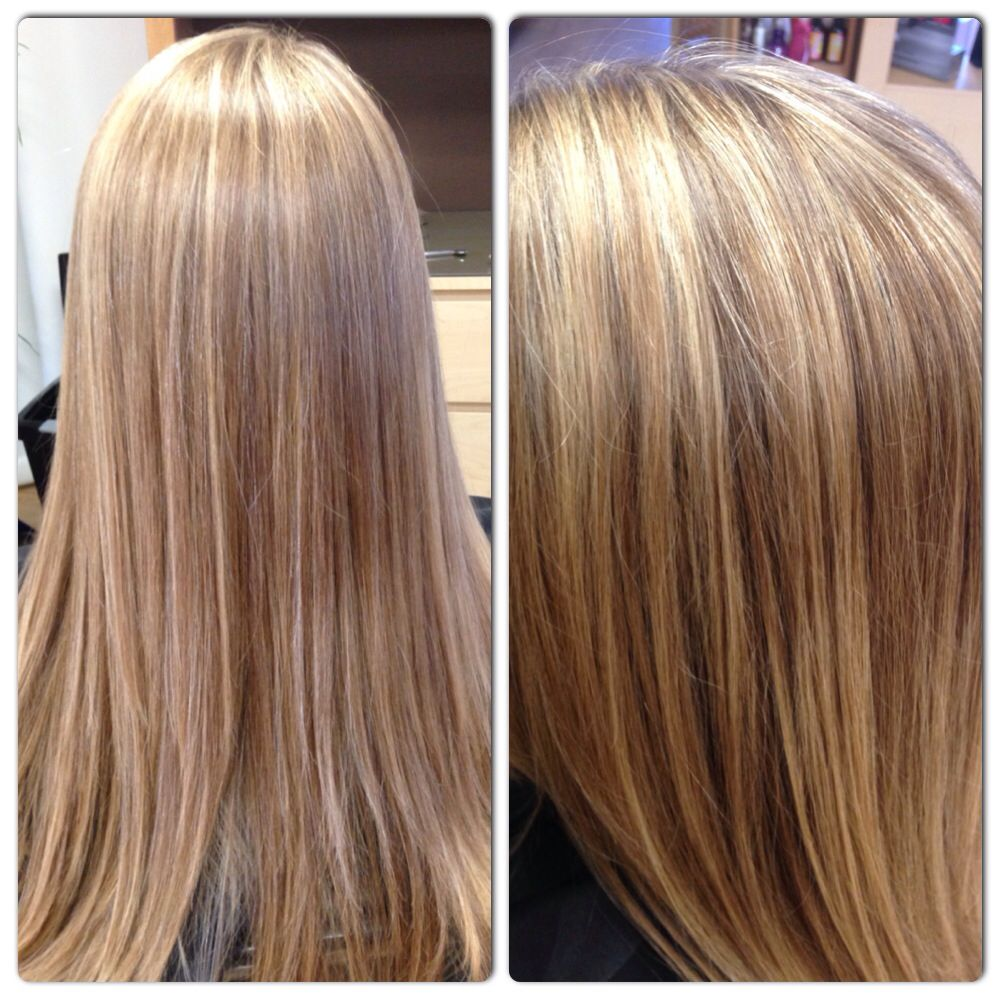 Two Different Color Blonde Highlights For Some Contrast