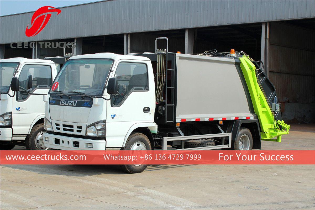 Isuzu Waste Disposal Truck Trucks Rubbish Truck Garbage Truck