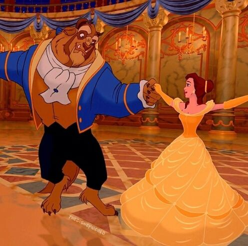 Dancing Beauty And The Beast Disney Beauty And The Beast
