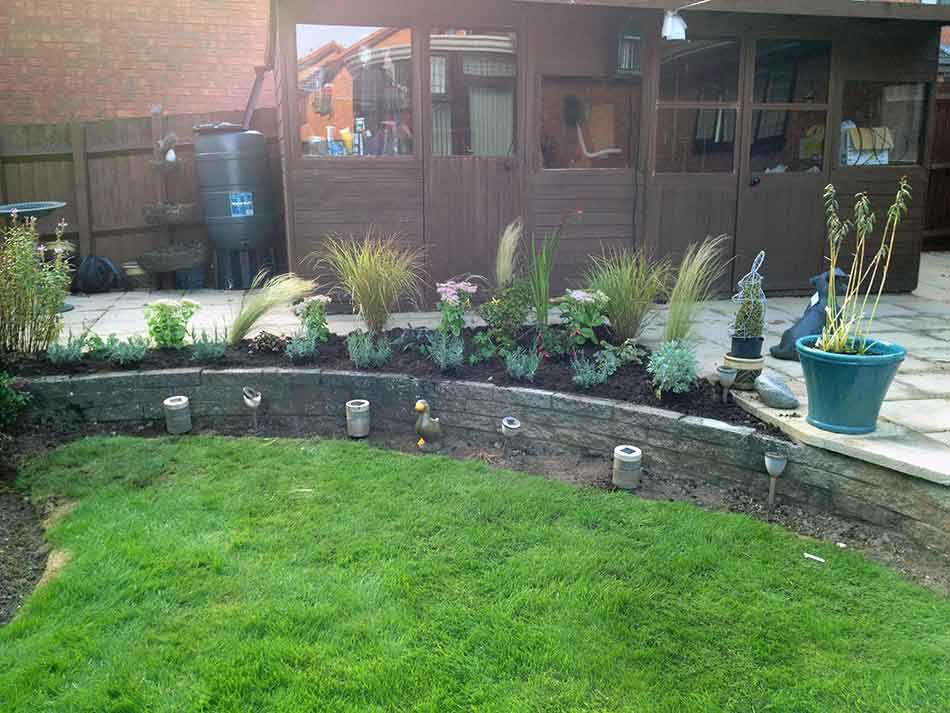 Garden Design in Telford I was asked by my client in ...