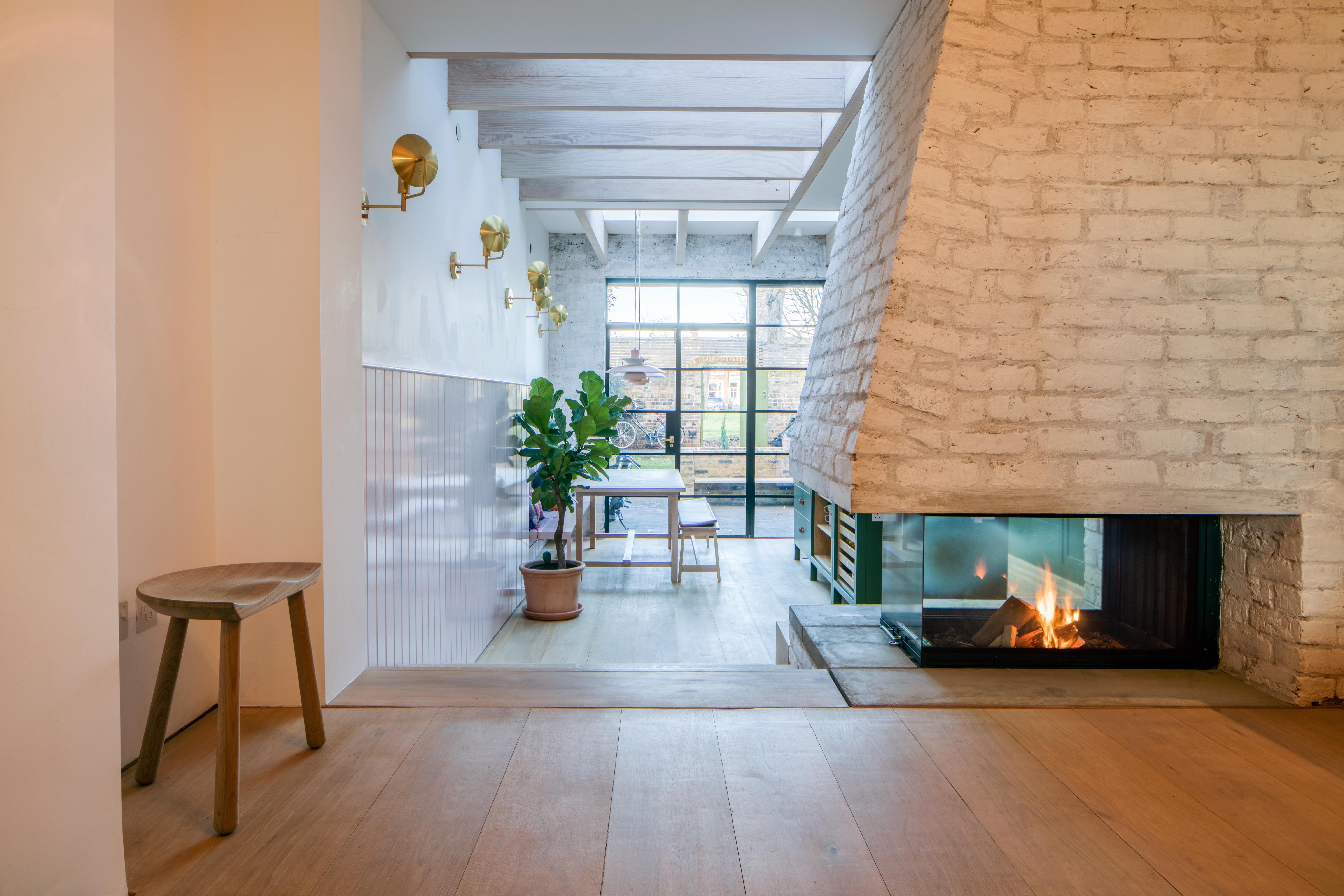 Mike Tuck Groombridge Kitchen Miketuckstudio Fireplace