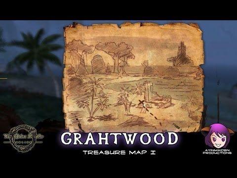 Grahtwood Treasure Map I | ESO - Treasure Map | Treasure ...