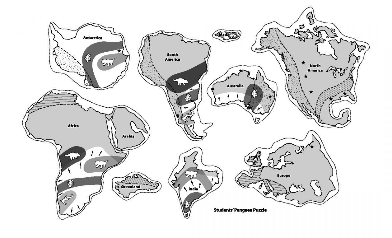 8 Pangea Science Worksheet Pangaea Puzzle Science Worksheets Pangea Activities [ 765 x 1260 Pixel ]