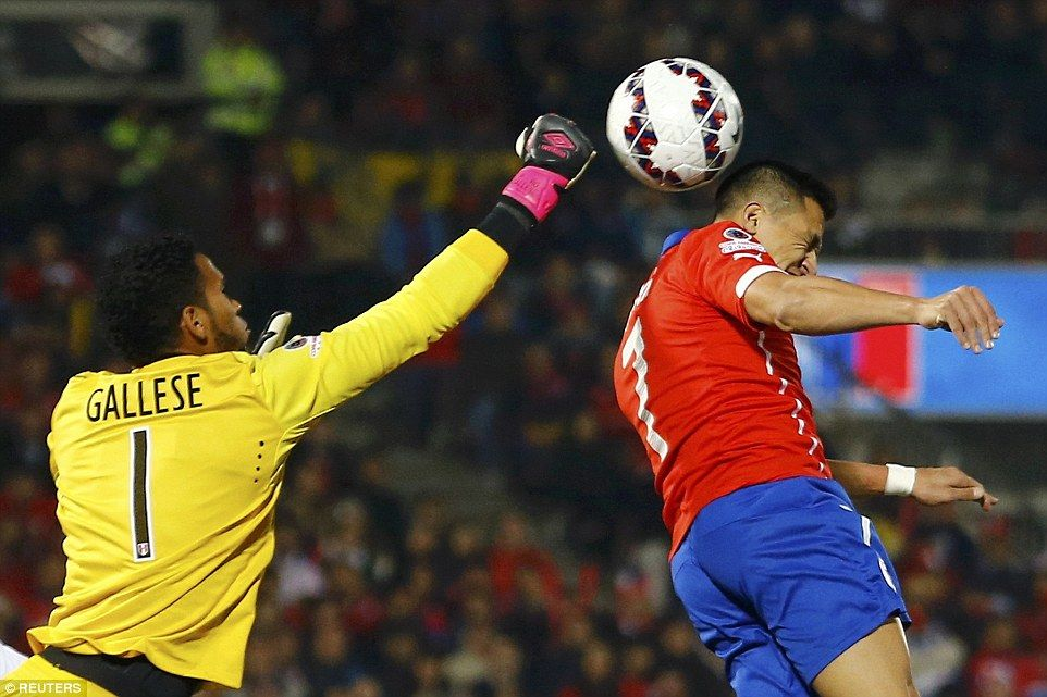 Chile 2-1 Peru: Vargas Double Helps Hosts Into Copa