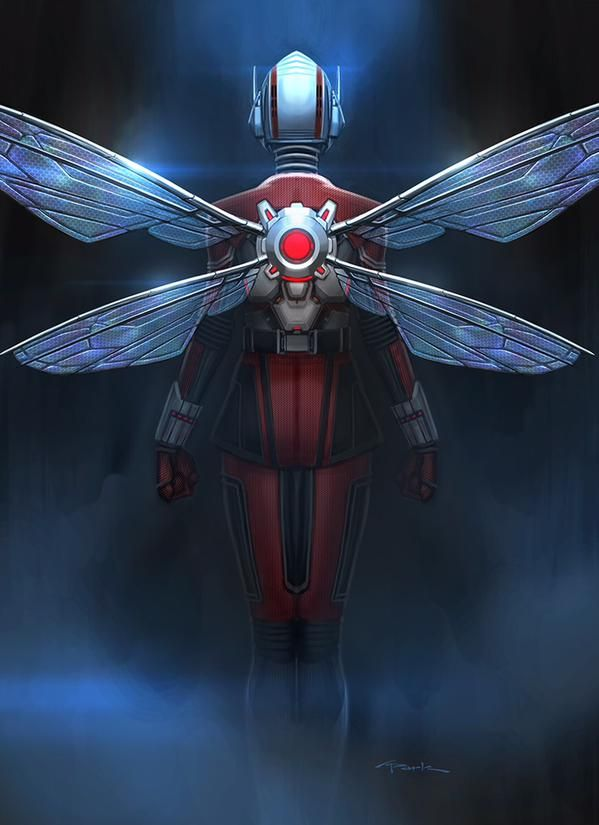New ANT-MAN Concept Art Reveals Another 'WASP' Design By Andy Park & Ryan Meinerding
