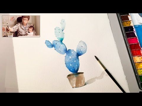 Level 2 How To Watercolour Painting Demonstration For