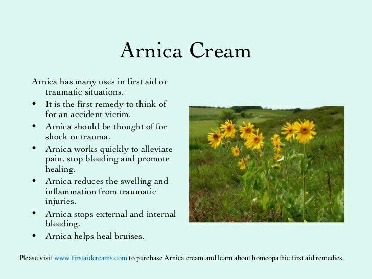 40++ What is arnica cream used for ideas