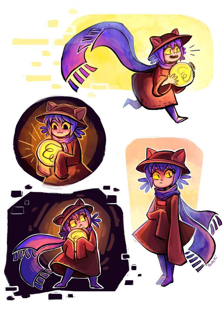 Niko (Oneshot) by Yodeki Furry drawing, Cartoon, Niko