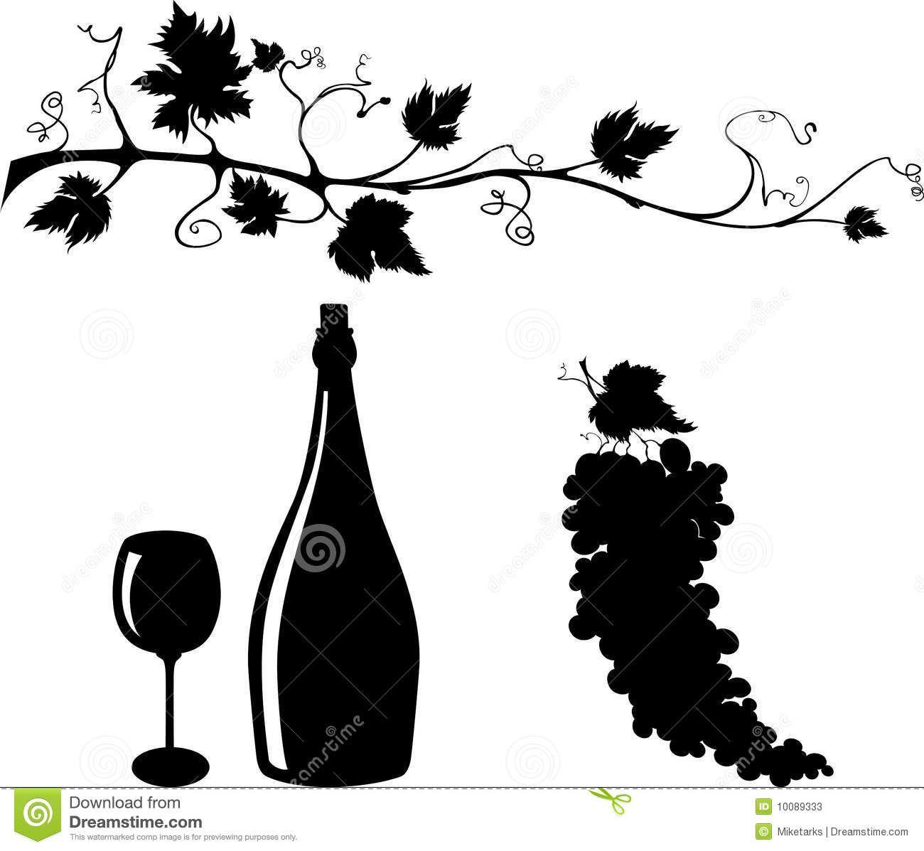 grape vines clip art   Frutas para colorear, Uva dibujo, Uvas