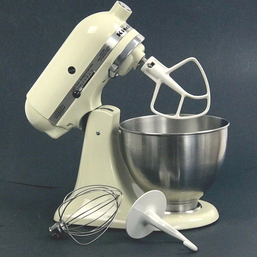 Hobart kitchenaid solid state stand mixer k45ss