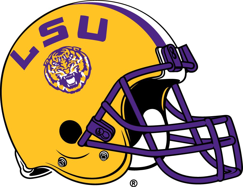 Lsu Logo Clip Art: LSU Tigers Helmet Logo (2014) -