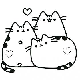 Riscos graciosos (Cute Drawings): Riscos de felinos: gatos, leões, tigres (Kittens, lions and tigers)