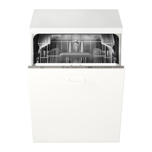 SKINANDE Integreret opvaskemaskine IKEA12 kuverter 9,9 liter A++ 3.399 kr Produktmål Bredde: 59.6 cm Dybde: 55.5 cm Højde: 81.8 cm Kabellængde: 150 cm Vægt: 37.20 kg 45 db