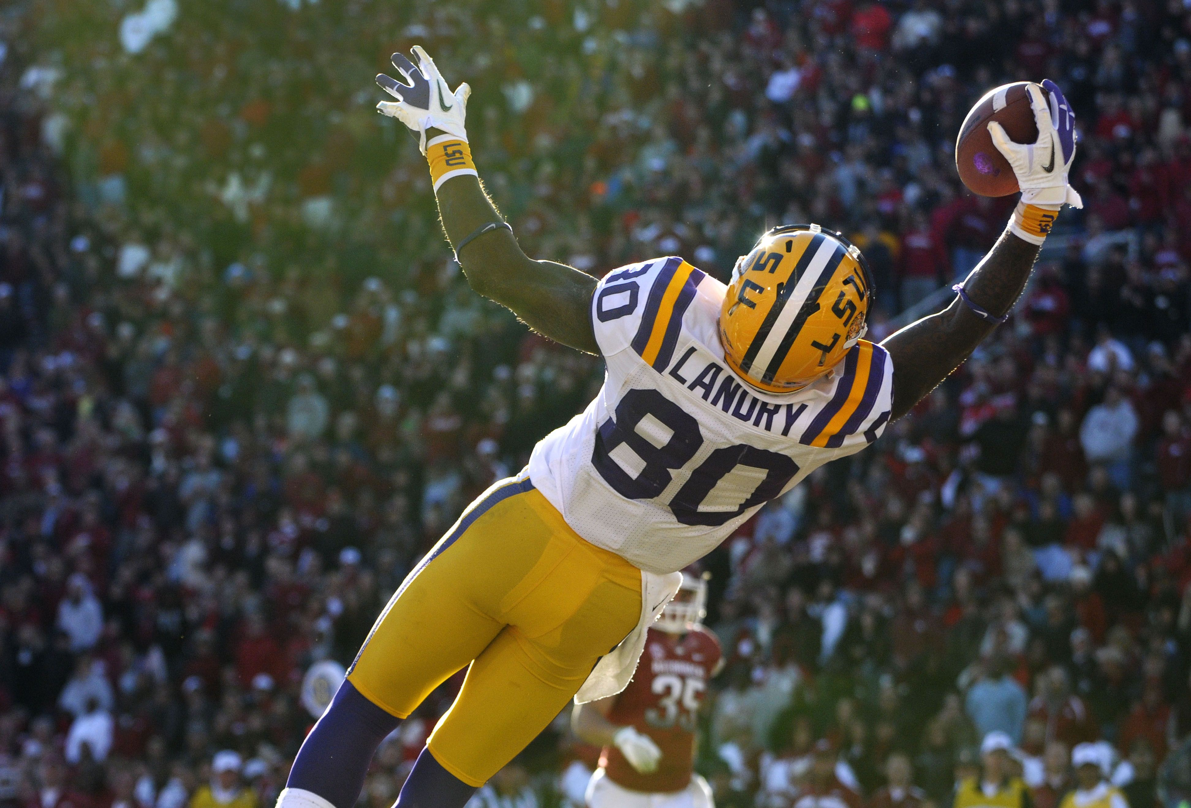 Look Catch Of The Year College Football Top 25 Football Lsu Tigers Football