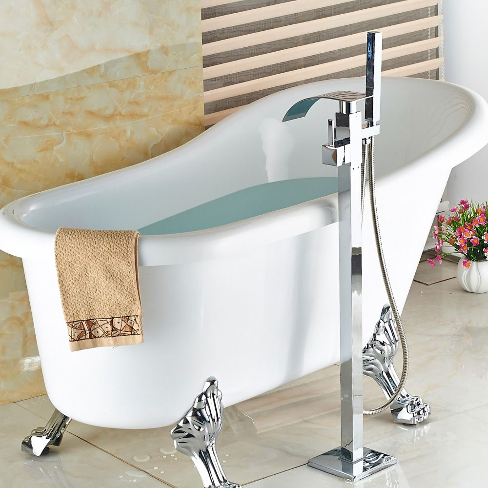 Wholesale and Retail luxury Freestand Floor Mounted Clawfoot Bath ...