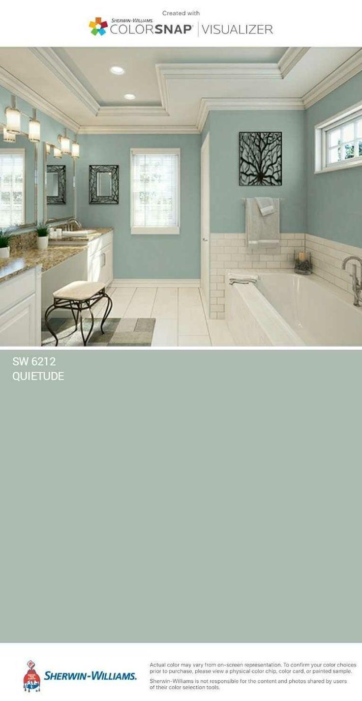 Bathroom Paint Colors Ideas For Bathroom Decor En 2020 Casas Pintadas Exterior Colores De Casas Interiores Colores De Pintura Para Casa