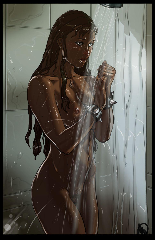 Chun lis shower ass