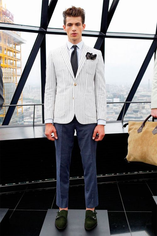 """homme–models: """" Hardy Amies Spring/Summer 2014 """" F R E S H"""