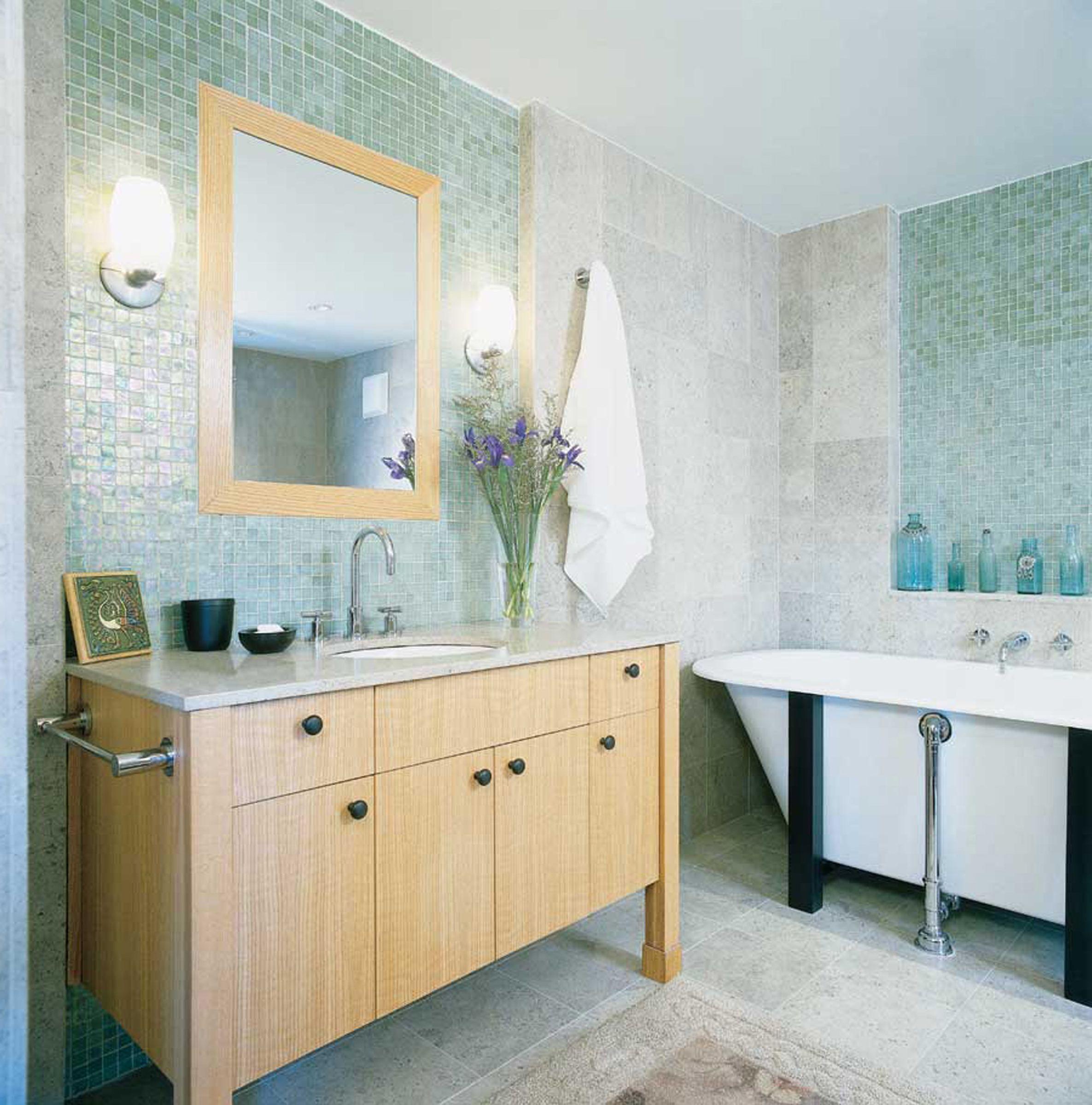 Badezimmer eitelkeiten mit oberen speicher  gute grüne und braune badezimmer bilder design  mehr auf unserer