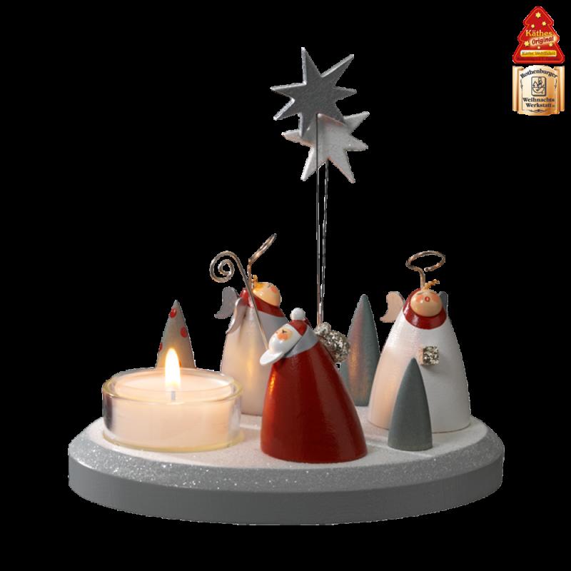 Käthe Wohlfahrt - Online Shop | Tealight holder Christmas choir | Rothenburg ob der Tauber