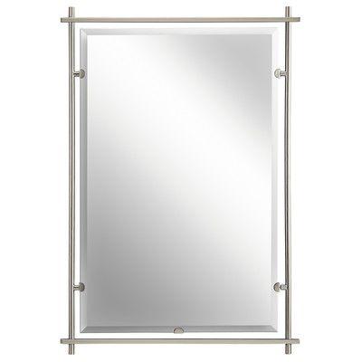 Chevelle Full Length Mirror Brushed Nickel Mirror Eileen Gray
