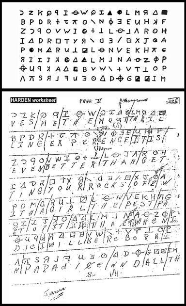 A COUPLE AGAINST THE FIRST ZODIAC KILLER CODE The Zodiac