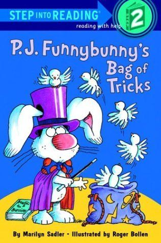 P.J. Funnybunny's Bag of Tricks (Step into Reading) by Marilyn Sadler, http://www.amazon.com/dp/0375824448/ref=cm_sw_r_pi_dp_2qxWqb13HVMCE