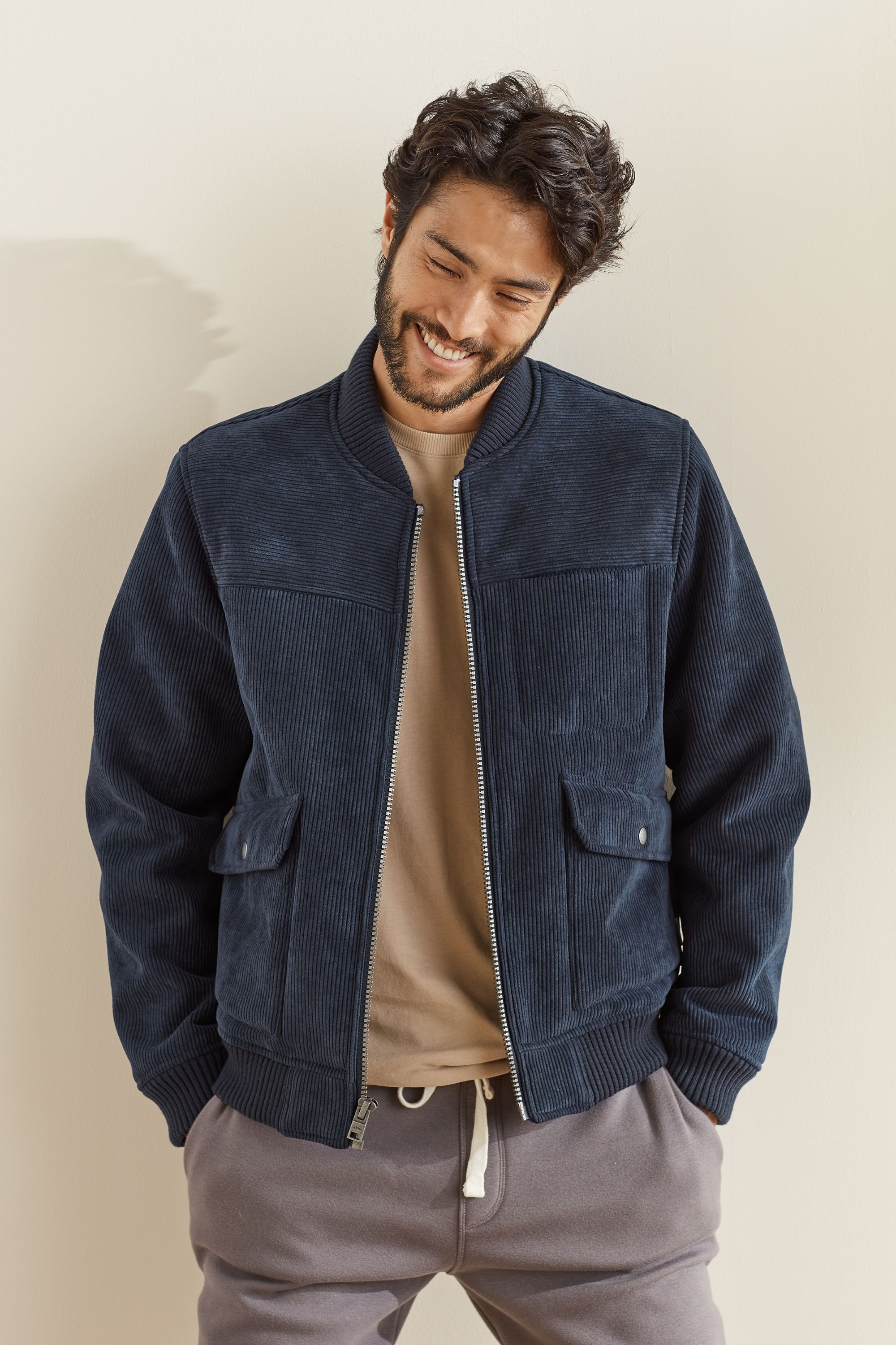 Men S Cord Bomber Jacket Bomber Jacket Outfit Mens Casual Outfits Jackets [ 3000 x 2000 Pixel ]