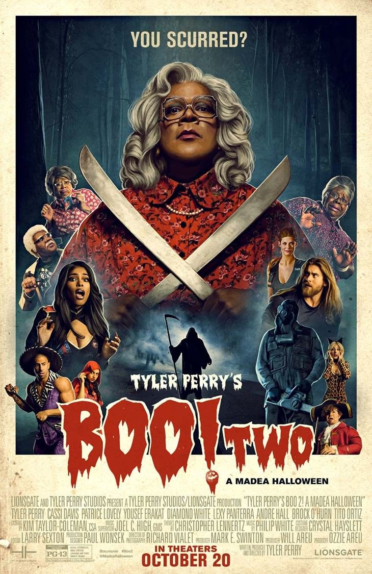 Tyler Perry's Boo 2! A Madea Halloween in Theaters 10/20