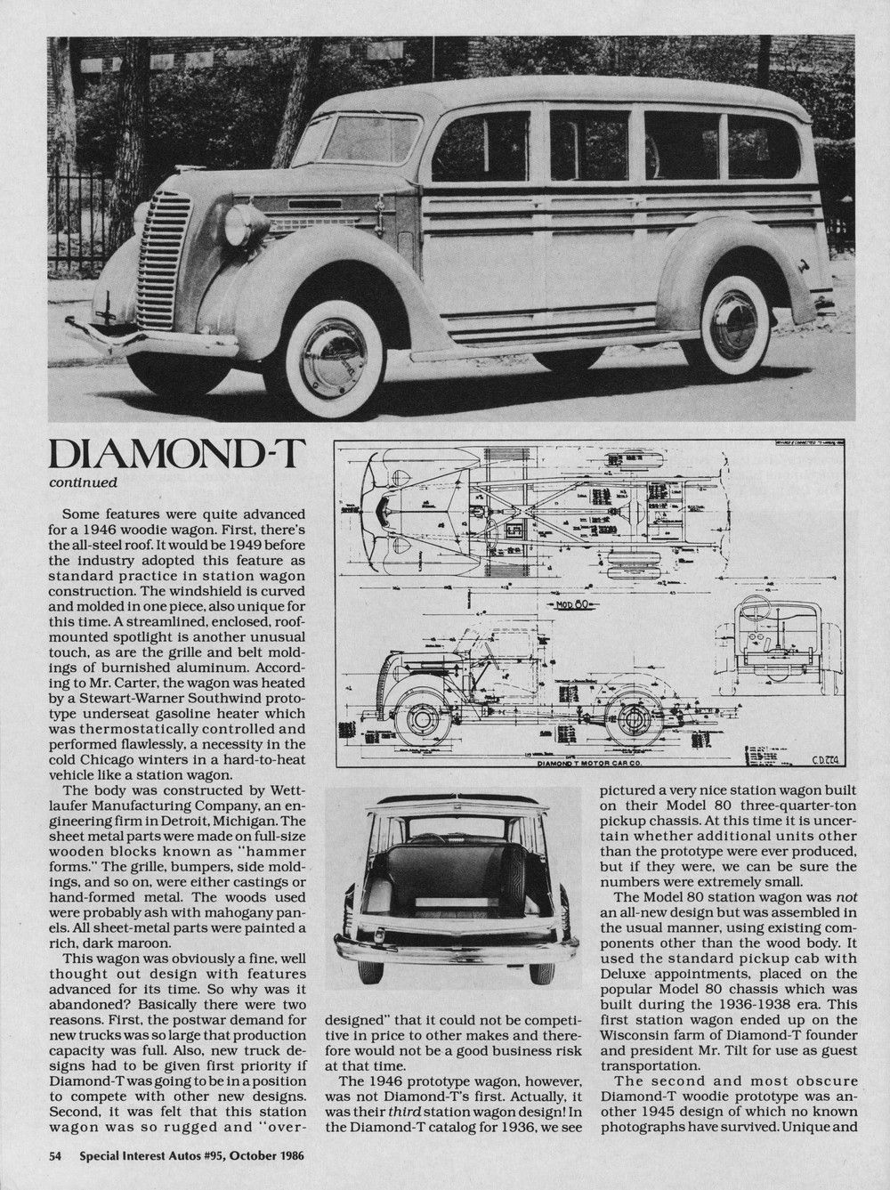 SIA Flashback DiamondT in the Rough Hemmings Daily