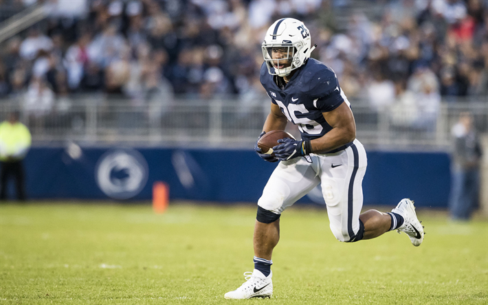 Download wallpapers Saquon Barkley, American football